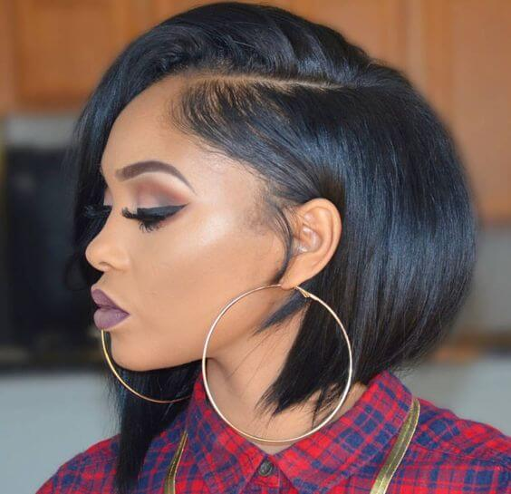 Top 10 Best Black Hairstyles for Short Hair - 2018