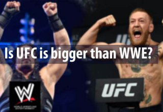 is UFC is bigger than WWE.
