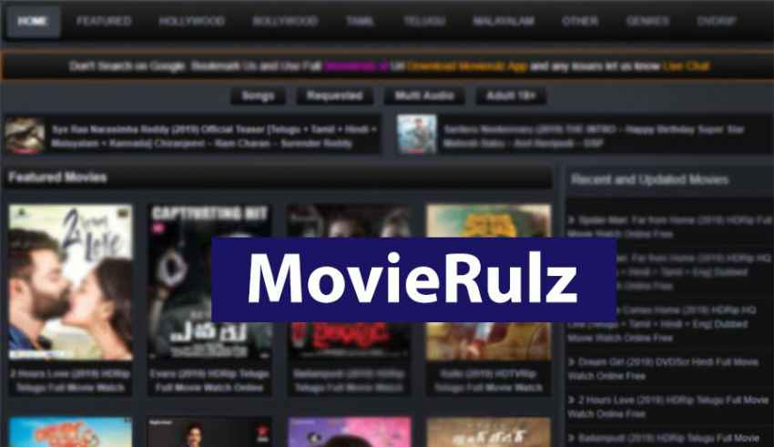 Movierulz 2019 - Is It Illegal To Download Pirated Movies Online?