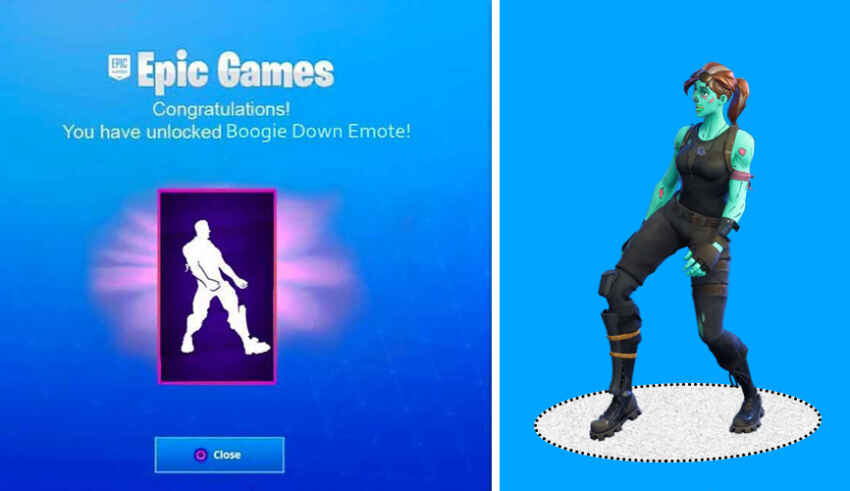 Boogie Down Emote